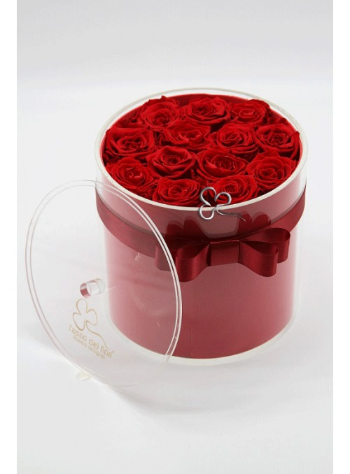 Red roses cristal