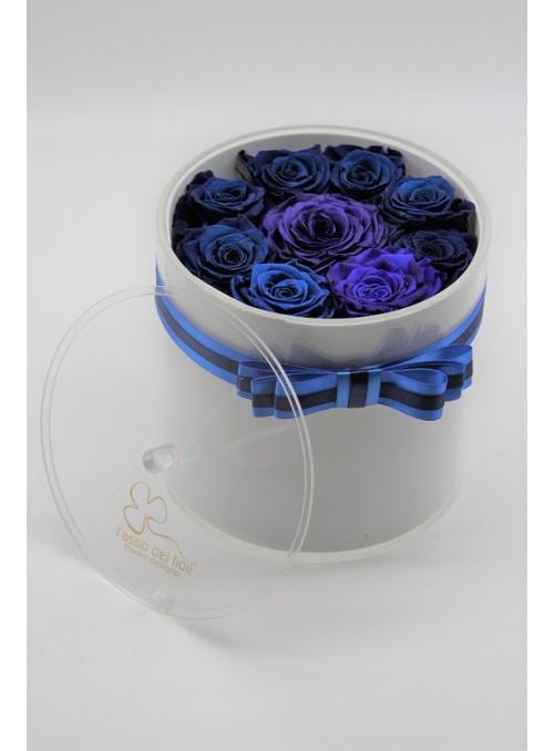 blu roses cristal