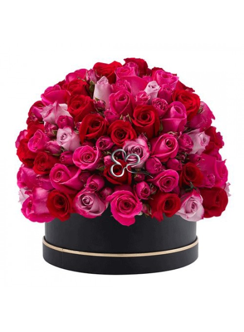 Elegance roses box