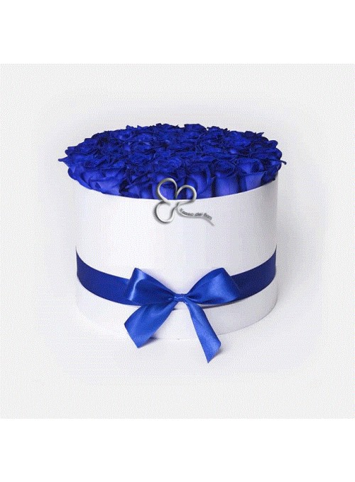 Blue rose box