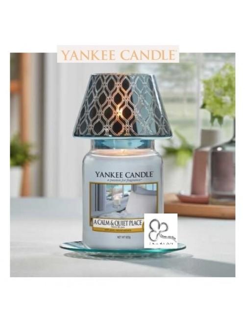 """Yankee Candle Set Paralume Grande""""Savoy Blue"""""""