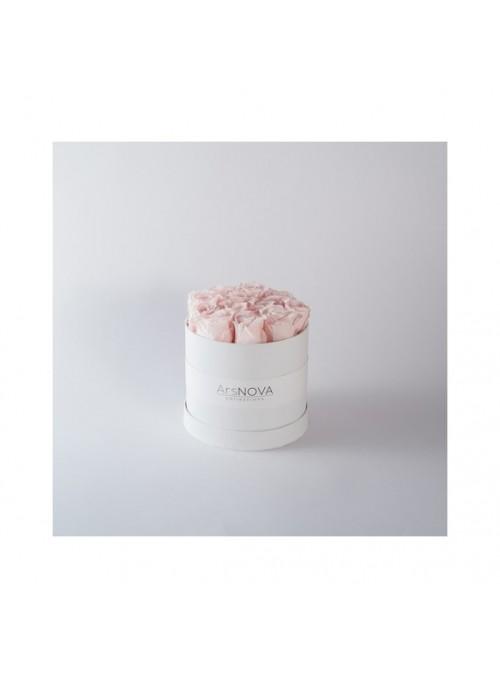"""Flowercube box """"Cherie""""Rosa"""