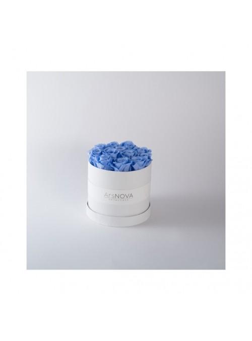 """Flowercube box """"Cherie""""Blu"""