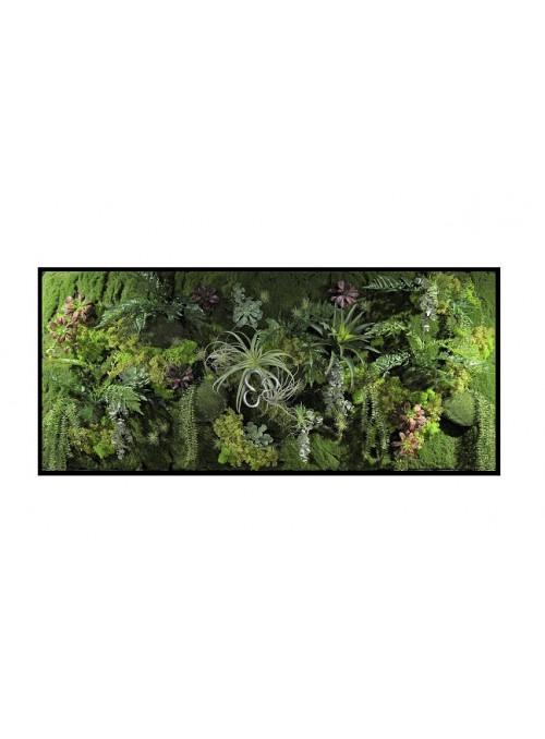 Horizontal garden