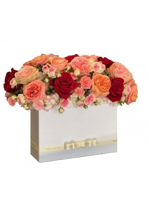 Elegance mix roses