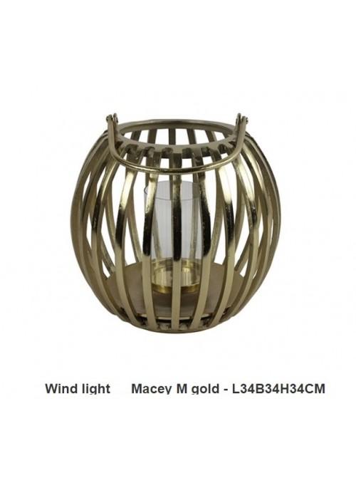Lanterna Macey Gold