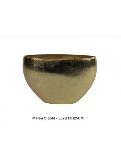 "Vaso Ovale ""Maren Gold"""