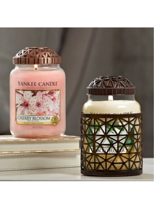 "Cappuccio Giara Yankee Candle Illuma-lid ""Belmont Copper"""