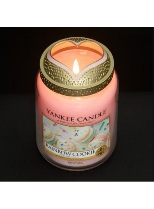"Cappuccio Giara Yankee Candle Illuma-lid ""Pastel Romance"""