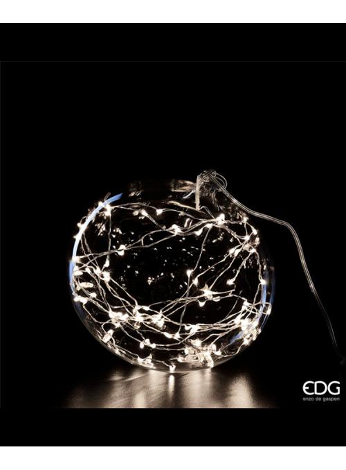 Palla vetro con led EDG