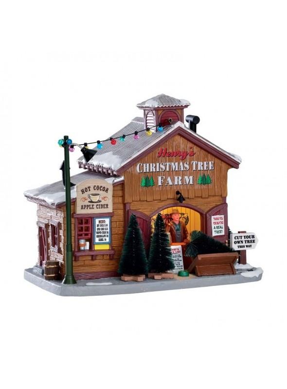Henry's Christmas Tree Farm Lemax