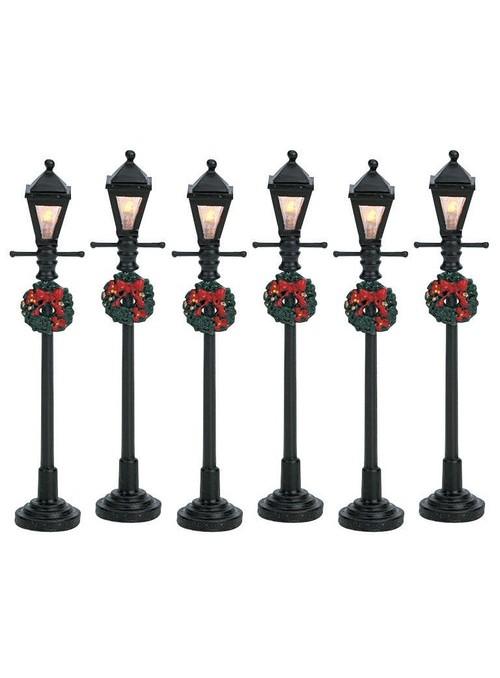 4 LAMPIONI A LANTERNA SET DI 6