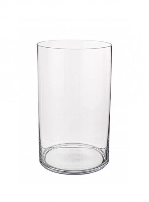 Vaso in vetro per bouquet o composizioni varie.