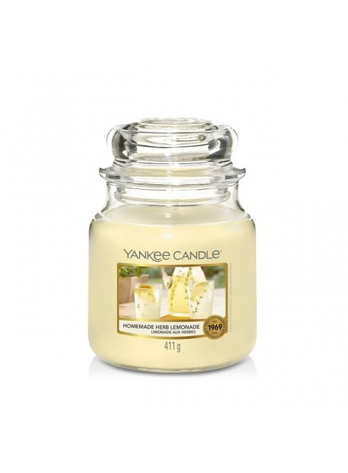 YANKEE  CANDLE homenade herb lemonade