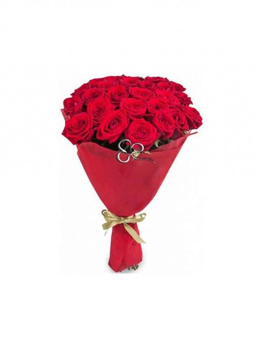 50 splendide rose rosse Red Naomi stelo corto.