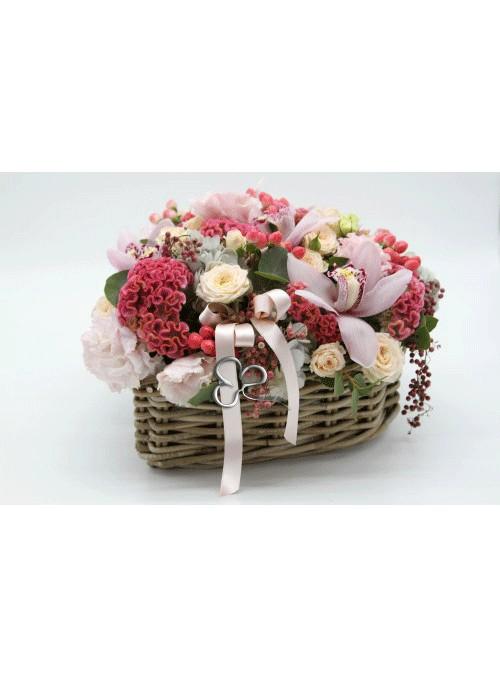 cesto  floreale