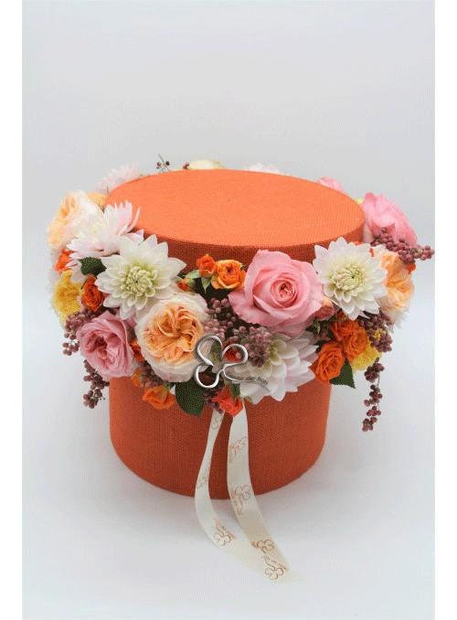 scatola arancio